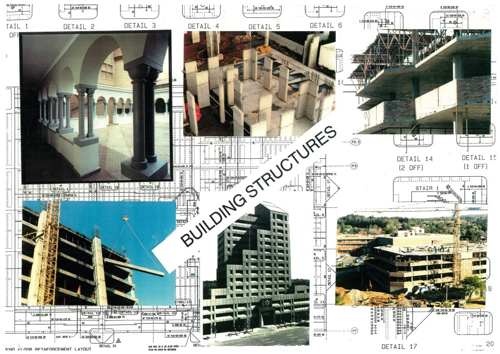 COLLAGE - BUILDING STRUCTURES