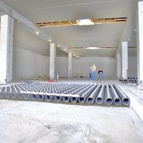 Construction of composting plant